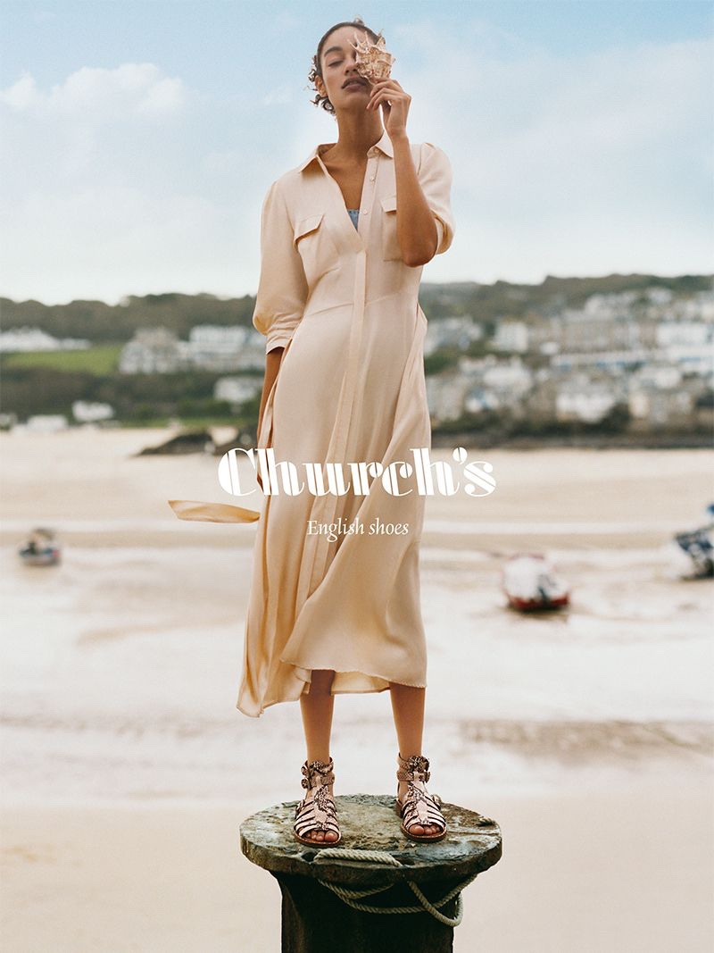 Church's sets spring-summer 2020 campaign in St. Ives, Cornwall, England