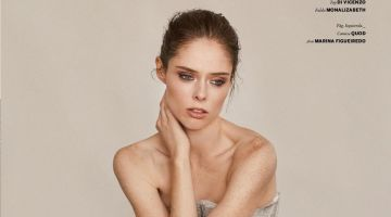Coco Rocha Poses in Elegant Ensembles for Issue Magazine