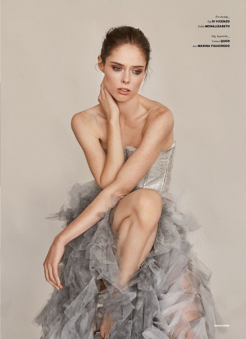 Coco Rocha Poses in Elegant Ensembles for Issue Magazine