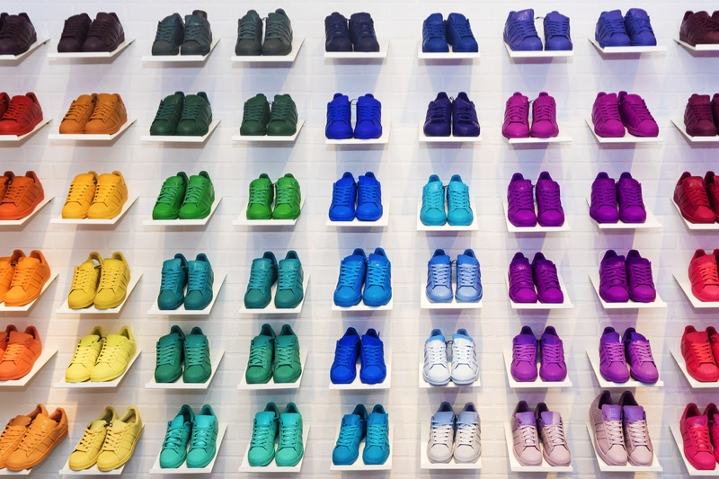 Colorful adidas Sneakers Selection