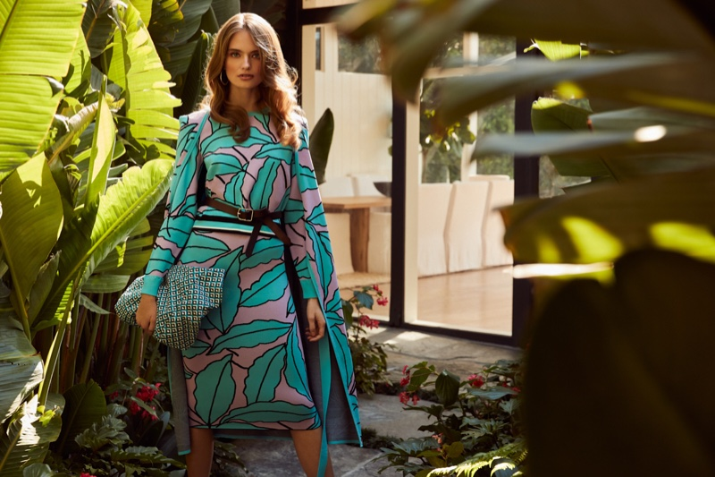 DVF embraces print with January 2020 collection