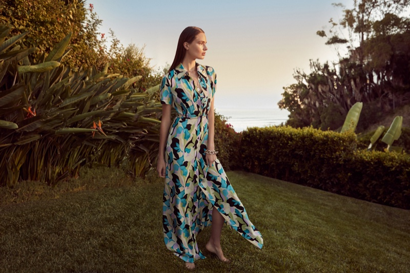DVF focuses on Georgia dress from latest collection