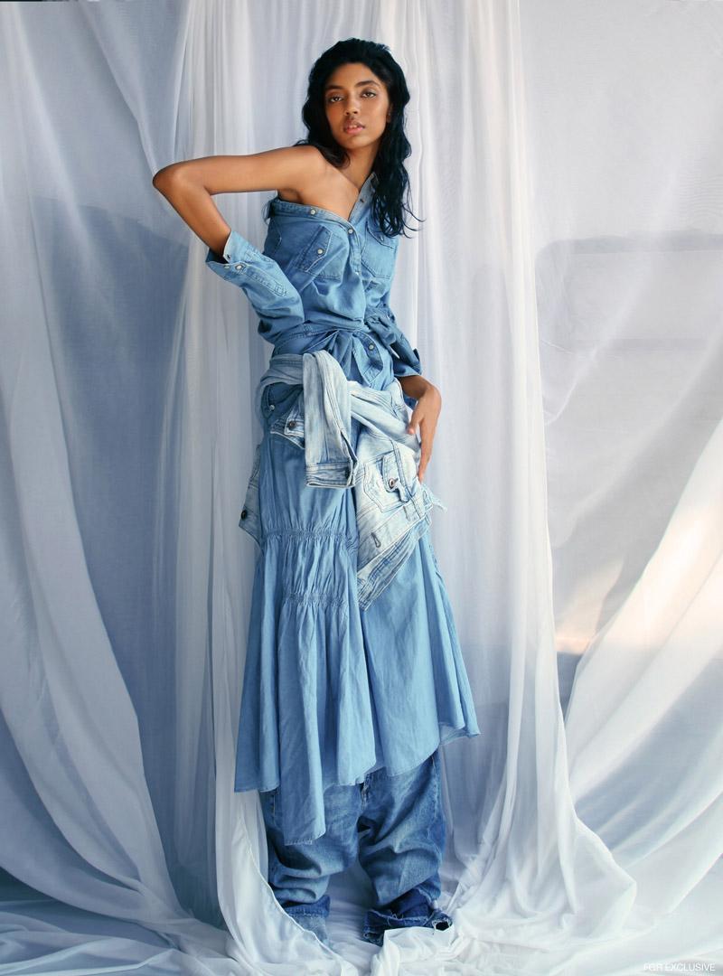 Denim Shirt Gap, Denim Jacket Forever 21, Denim Skirt Madison on Peddar and Jeans H&M. Photo: Kay Sukumar