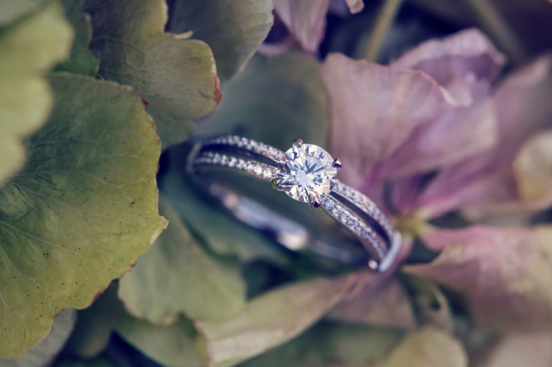 Diamond Ring Natural Backdrop