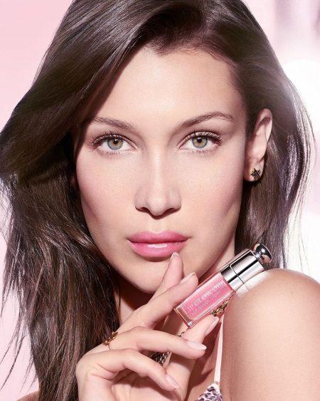Bella Hadid stars in Dior Lip Glow Oil 2020 campaign