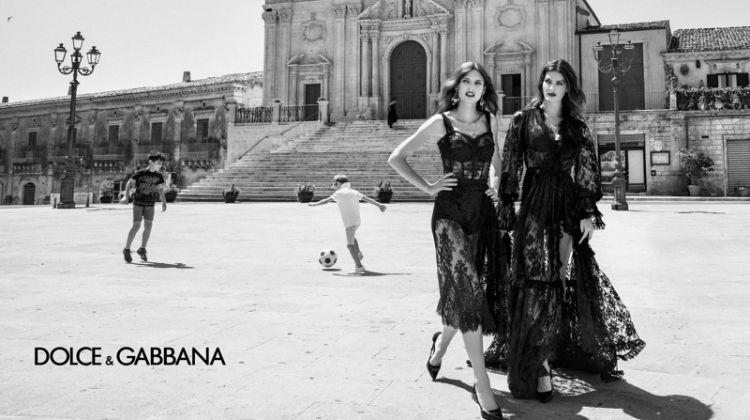 Bianca Balti and Isabeli Fontana star in Dolce & Gabbana spring-summer 2020 campaign
