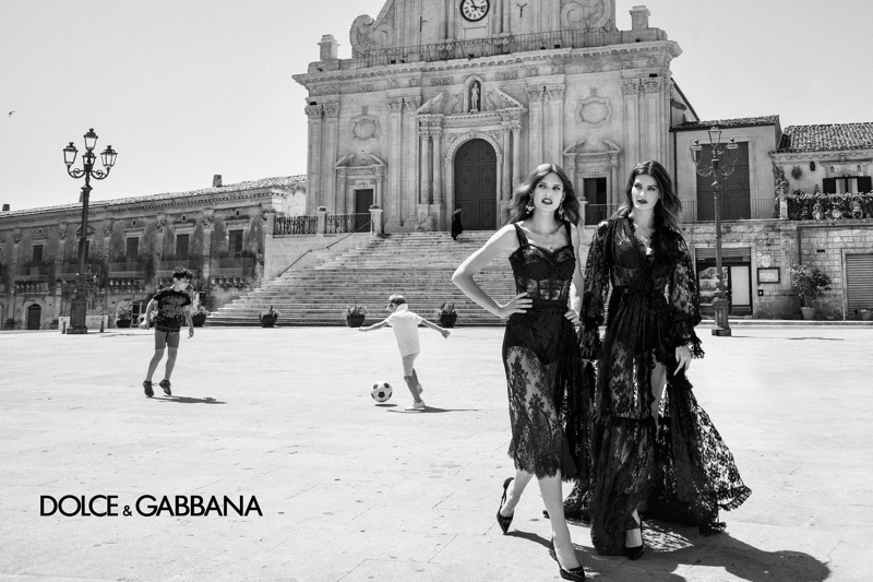 Bianca Balti and Isabeli Fontana star in Dolce & Gabbana spring-summer 2020 campaign