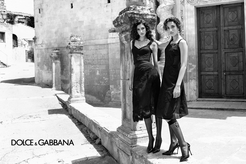 An image from Dolce & Gabbana's spring 2020 advertising campaign