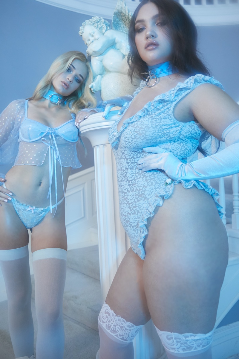 Lace lingerie designs from Dolls Kill Valentine's Day 2020 collection
