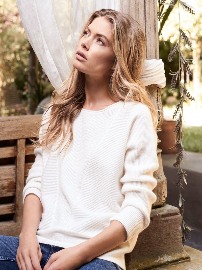Doutzen Kroes stars in Repeat Cashmere spring-summer 2020 campaign