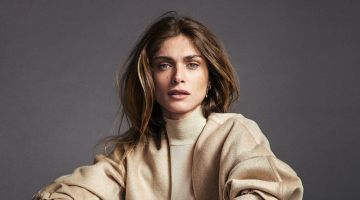 Elisa Sednaoui Models Relaxed Looks for Woman Spain