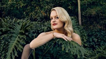 Elisabeth Moss Wears Sleek Styles for Harper's Bazaar