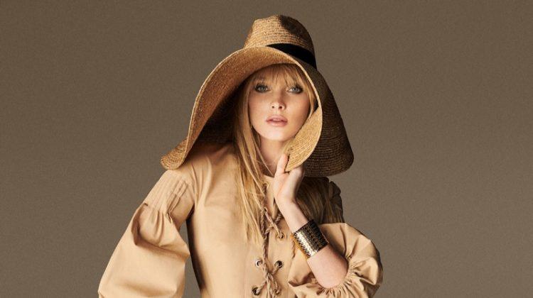 Elsa Hosk stars in Luisa Spagnoli spring-summer 2020 campaign