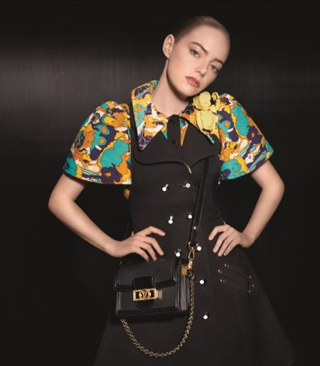 Actress Emma Stone appears in Louis Vuitton spring-summer 2020 campaign