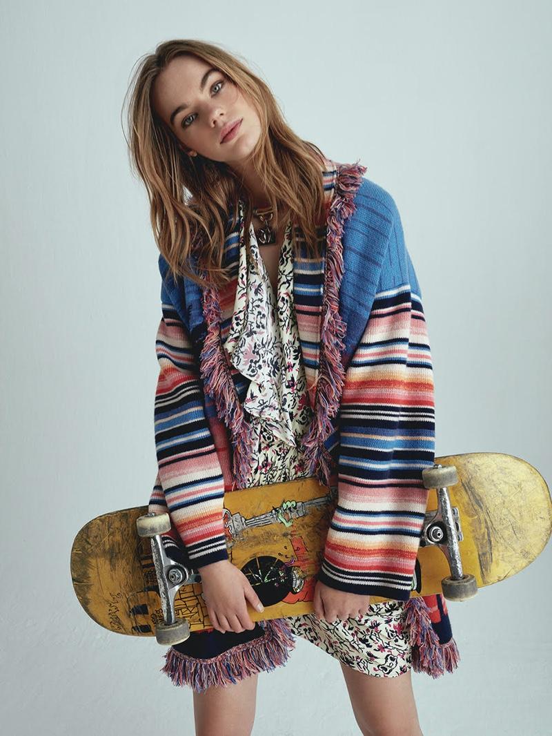 Estella Boersma Embraces Colorful Prints for TELVA