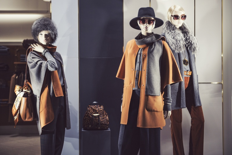 Fall Winter Clothing Mannequin Display