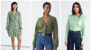 & Other Stories pistachio color fashion trend