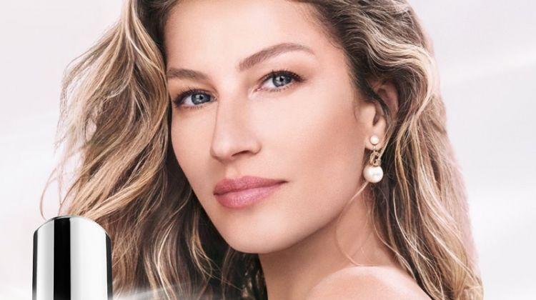 Gisele Bundchen stars in Dior Capture Totale Super Potent Serum campaign