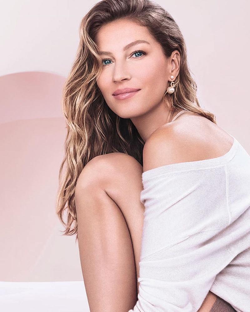 Supermodel Gisele Bundchen is the new face of Dior Capture Totale line