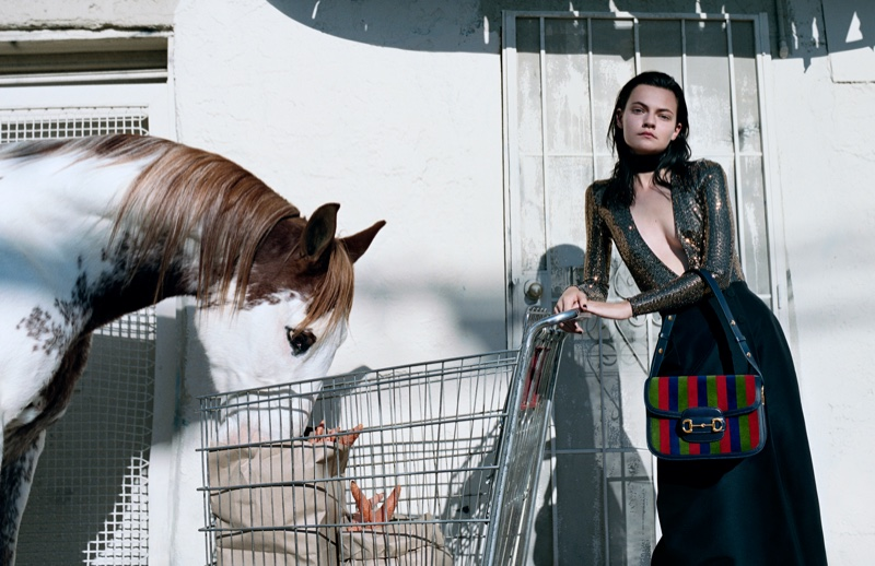 An image from Gucci's spring 2020 advertising campaign