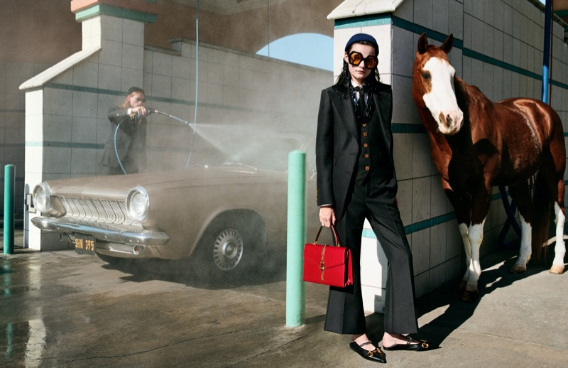 Horses take the spotlight in Gucci spring-summer 2020 campaign