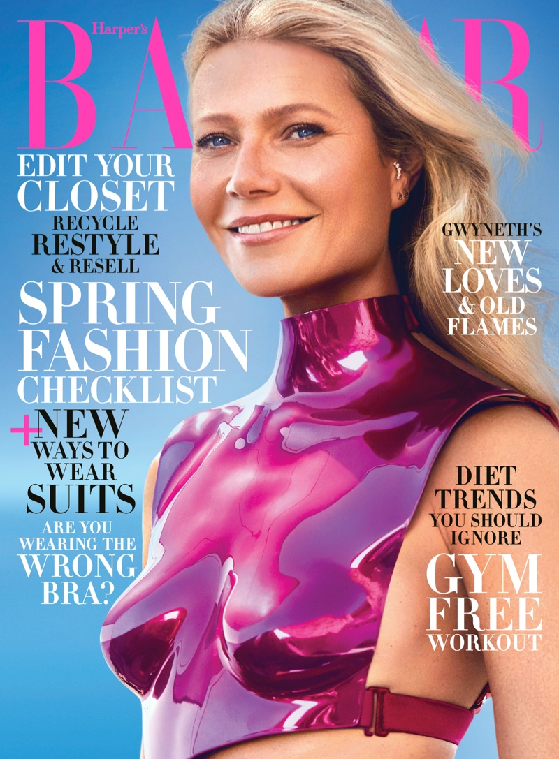 Gwyneth Paltrow on Harper's Bazaar US February 2020 Cover