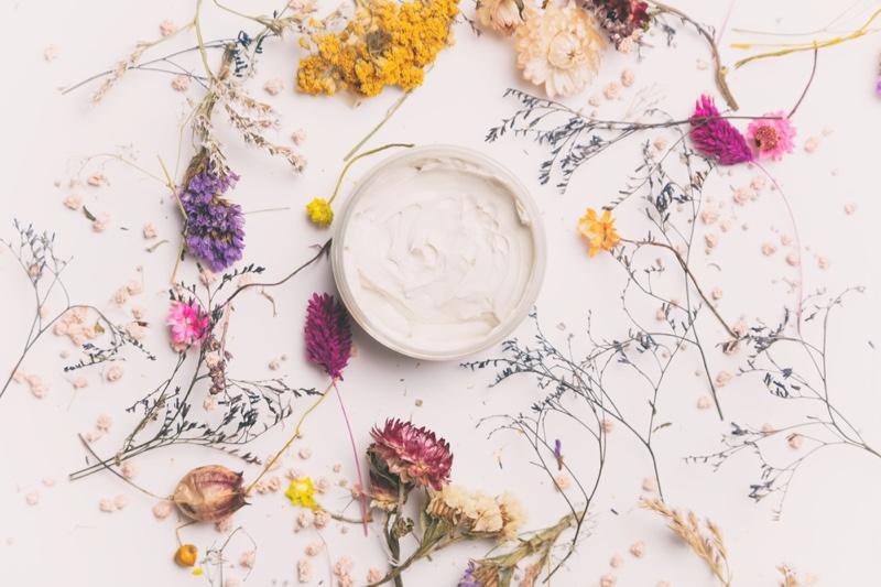 Handmade Cosmetics Cream Plants