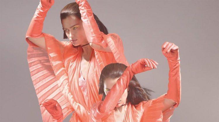 Irina Shayk Captivates on Vogue UK Cover (Photos)