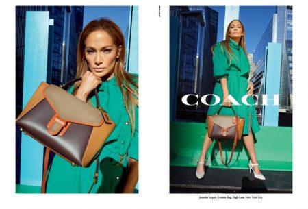 Jennifer Lopez stars in Coach spring-summer 2020 campaign
