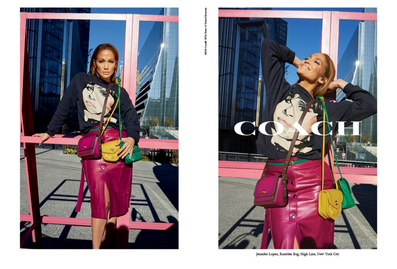 Coach taps Jennifer Lopez for spring-summer 2020 campaign