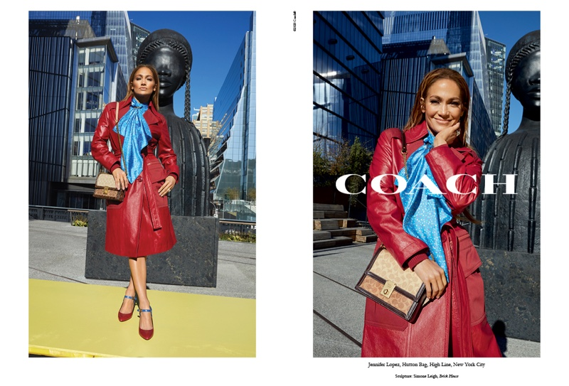 Striking a pose, Jennifer Lopez fronts Coach spring-summer 2020 campaign
