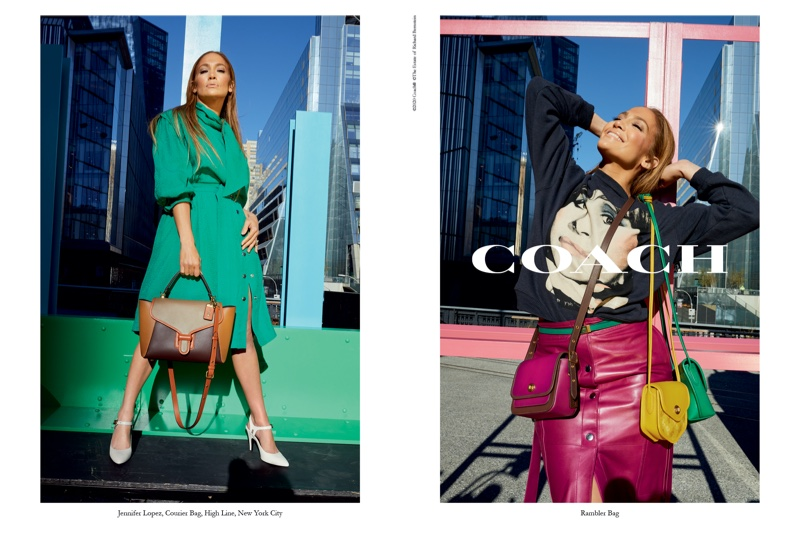 Jennifer Lopez appears in Coach spring-summer 2020 campaign