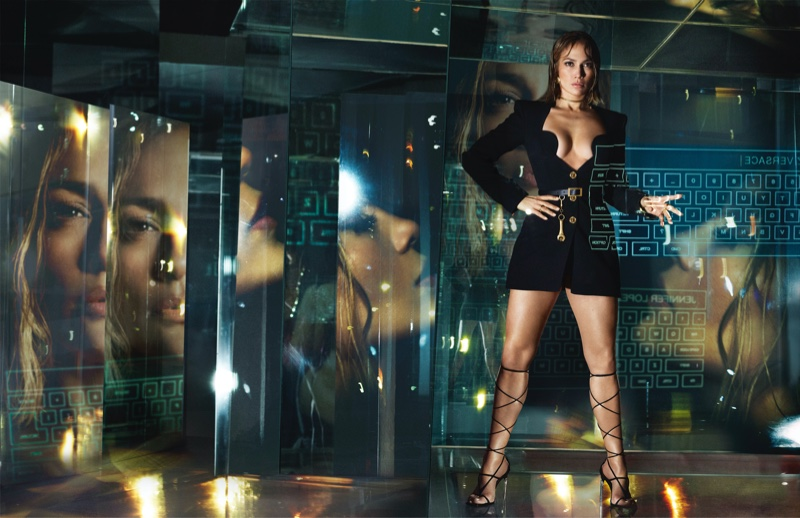 Jennifer Lopez stars in Versace spring-summer 2020 campaign