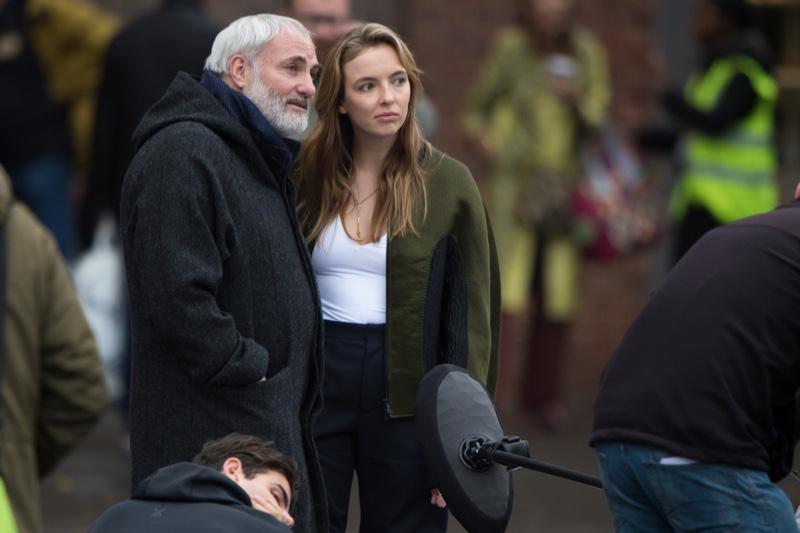Jodie Comer Kim Bodina Killing Eve Behind Scenes
