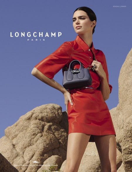 Longchamp taps Kendall Jenner for spring-summer 2020 campaign