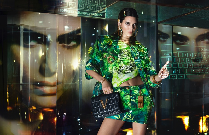 Kendall Jenner stars in Versace spring-summer 2020 campaign