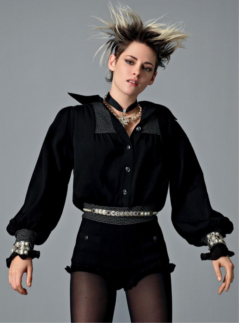 Kristen Stewart dresses in black for Chanel spring-summer 2020 campaign