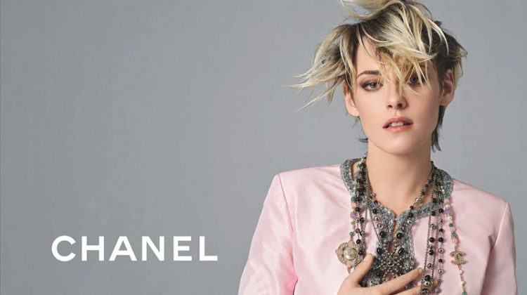 Actress Kristen Stewart looks pretty in pink for Chanel spring-summer 2020 campaign