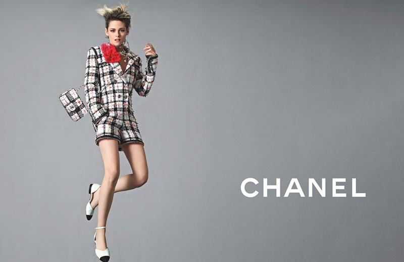 Kristen Stewart strikes a pose in Chanel spring-summer 2020 campaign