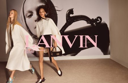 Jean Campbell and Selena Forrest star in Lanvin spring-summer 2020 campaign