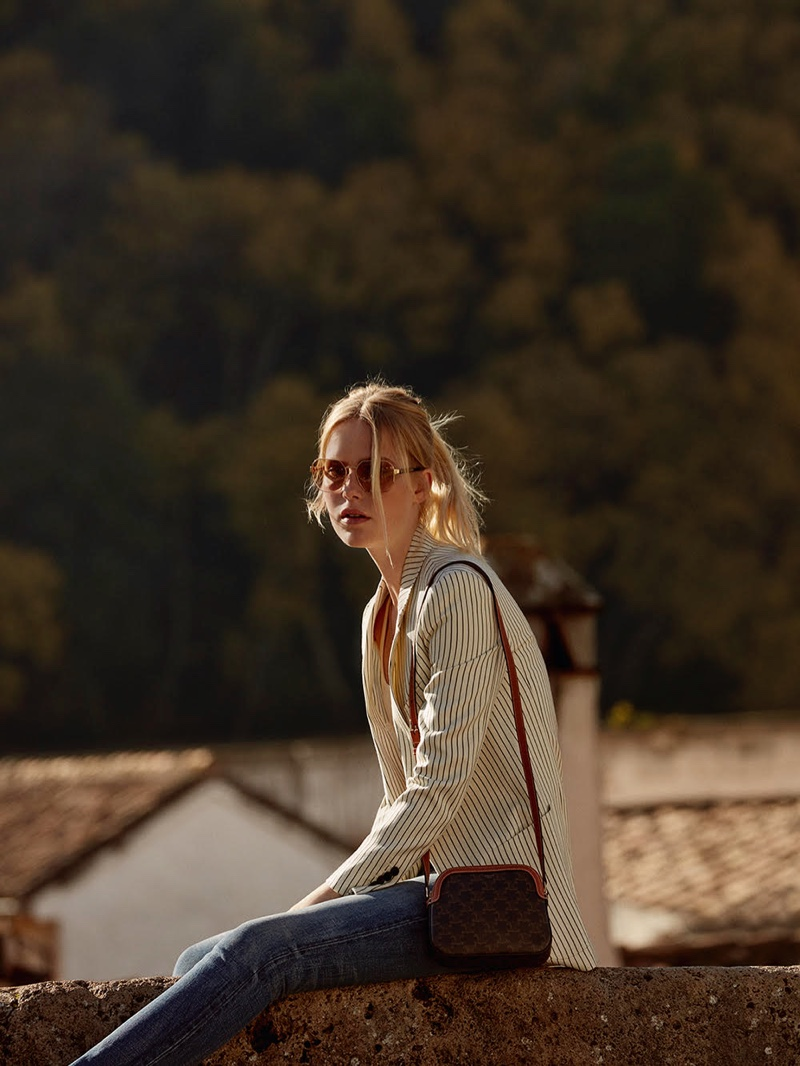 Linde Torenvlied Wears Laid-Back Styles for Marie Claire Spain