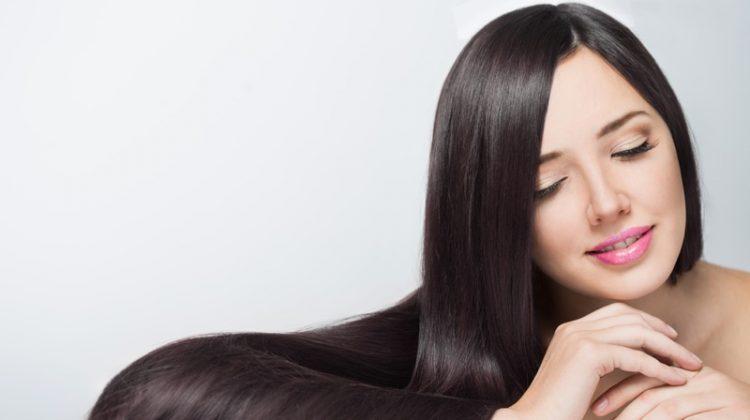 Long Brown Hair Model Beautiful