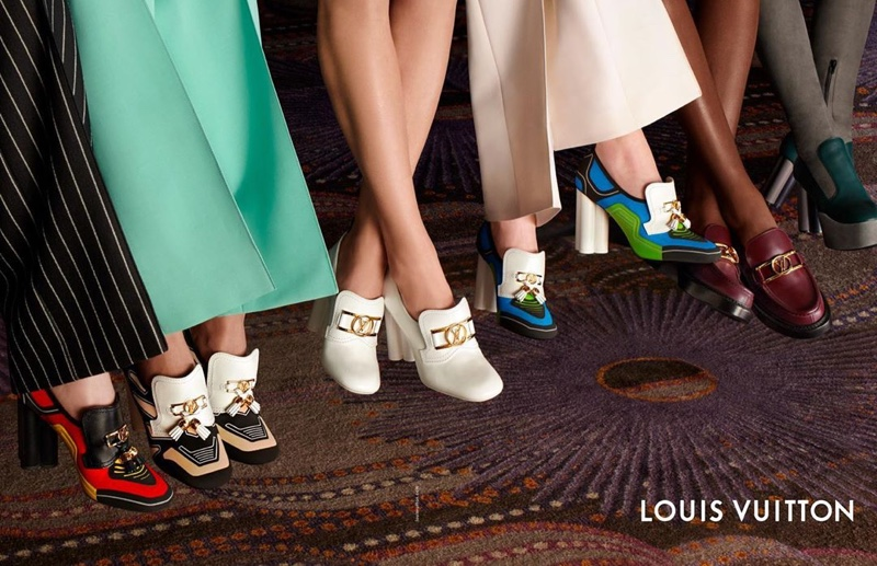 Shoes take the spotlight in Louis Vuitton spring-summer 2020 campaign