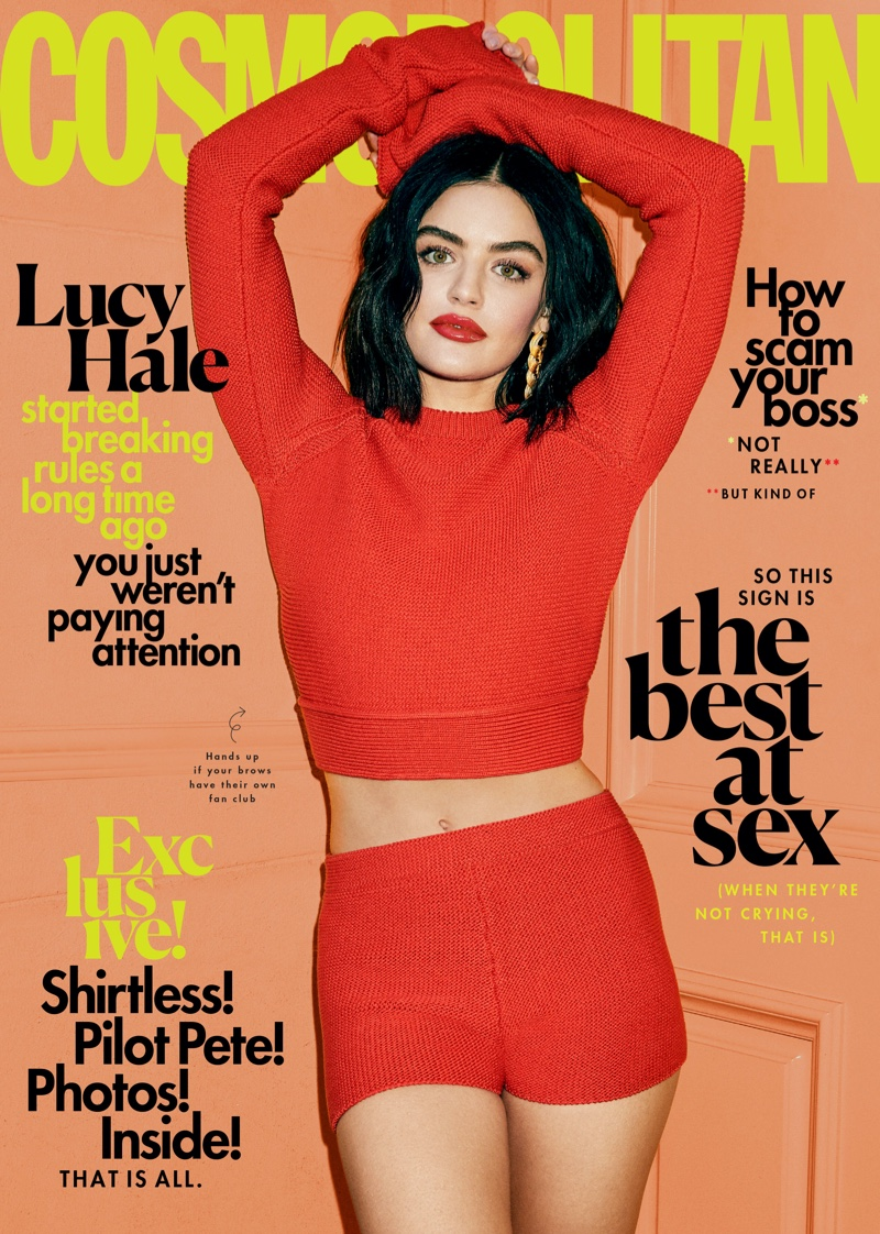 Lucy Hale on Cosmopolitan March 2020 Cover