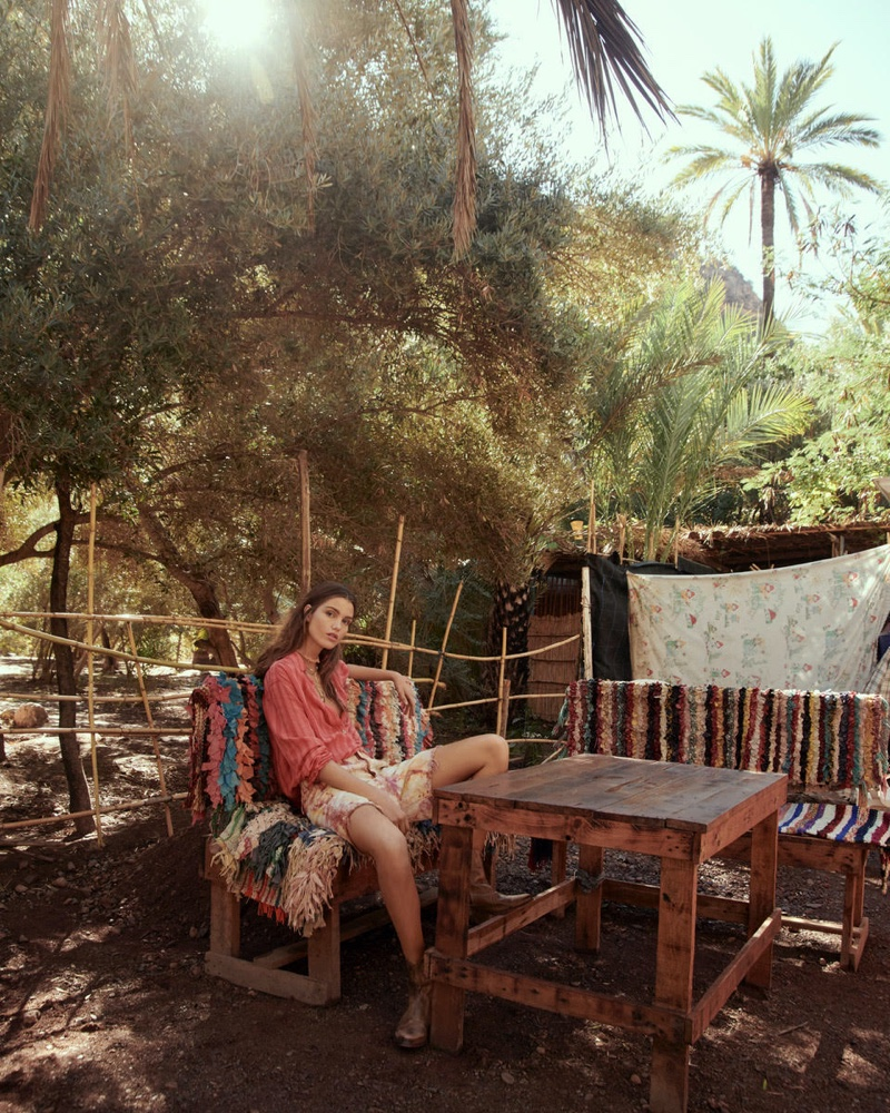 Free People sets January 2020 catalog in Morocco