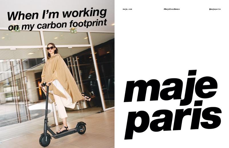 Tim Elkaïm photographs Maje spring-summer 2020 campaign