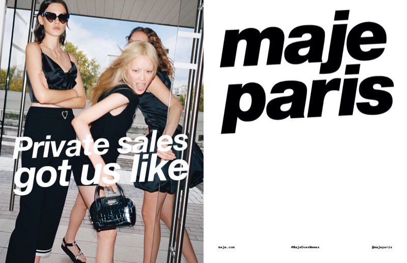 Maje launches spring-summer 2020 campaign