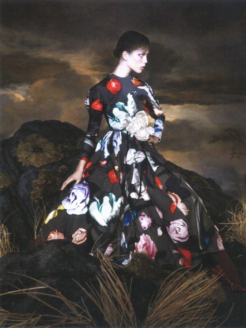 Marjan Jonkman Is Like A Painting for Vogue Arabia