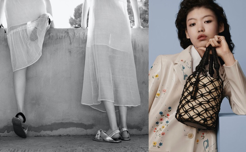 Tang He fronts Miu Miu spring-summer 2020 campaign
