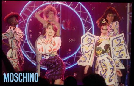 Adut Akech, Kaia Gerber, Bella Hadid, Gigi Hadid and Imaan Hammam star in Moschino spring-summer 2020 campaign